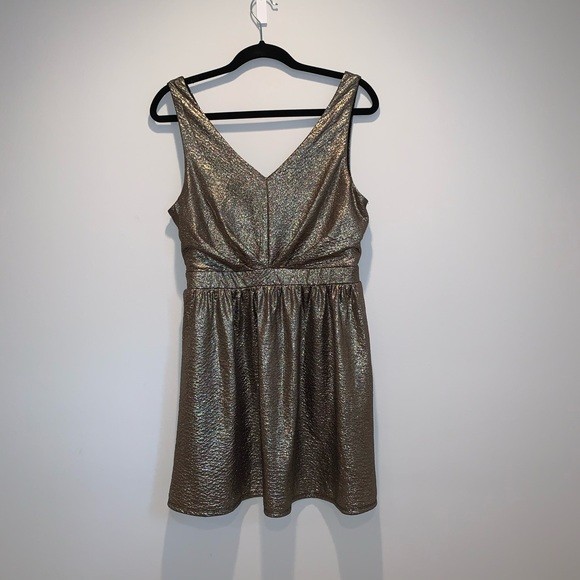 one clothing Dresses & Skirts - Gold Sparkly Dress